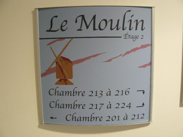 LE MOULIN-2EME ETAGE